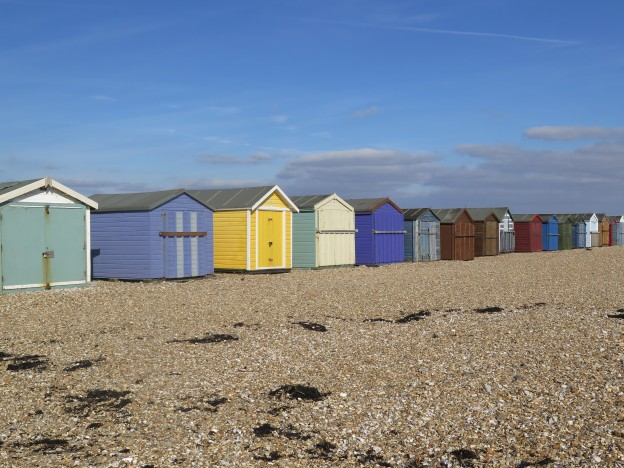 Beach Huts Hayling Island Seafront