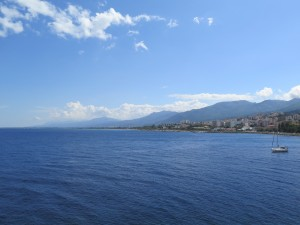 View to the South of Bastia