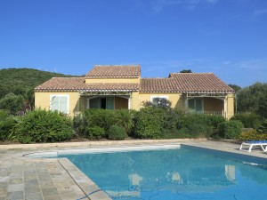 Our pool and holiday house