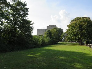 Portchester Castle - from the ouside